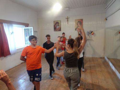 06 dansles in jeugdcentrum Roman