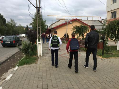 19 eerste schooldag in Raducaneni