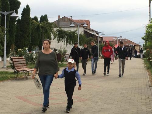 19a eerste schooldag in Raducaneni