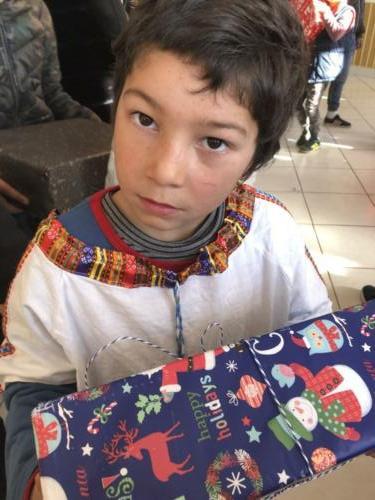 2 Kerstcadeaus gesponsord door onze stichting