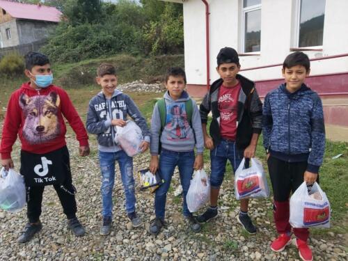 4c onze stichting sponsort ook de voedselbank in Roman