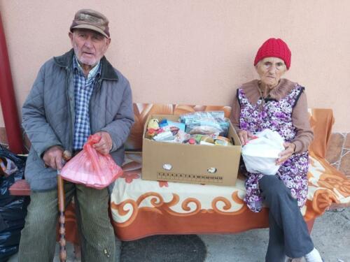 4d onze stichting sponsort ook de voedselbank in Roman